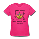 Found HER Voice Women's T-Shirt - fuchsia