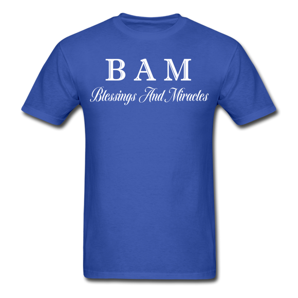BAM Unisex Classic T-Shirt - royal blue