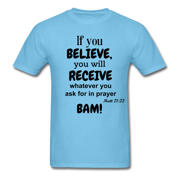 BAM Unisex Classic T-Shirt - aquatic blue