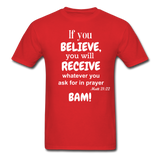 BAM Unisex Classic T-Shirt - red