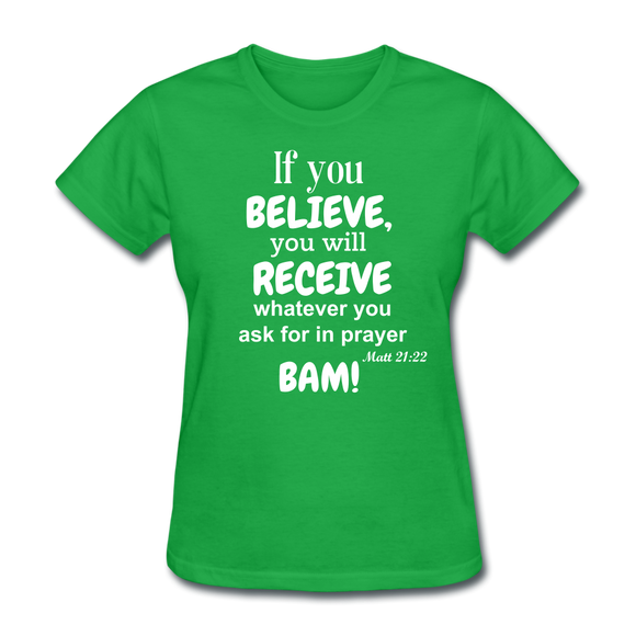 BAM Women's T-Shirt - bright green