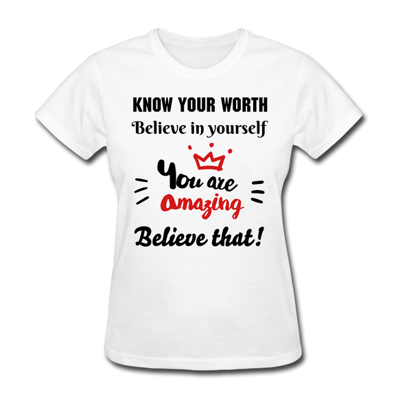 You Are Amazing Women's T-Shirt - white