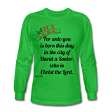 JOY Men's Long Sleeve T-Shirt - bright green