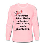 JOY Men's Long Sleeve T-Shirt - pink