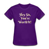 Hey SIs Women's Premium T-Shirt - purple