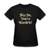 Hey SIs Women's Premium T-Shirt - black