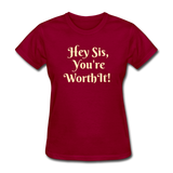 Hey SIs Women's Premium T-Shirt - dark red