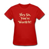 Hey SIs Women's Premium T-Shirt - red