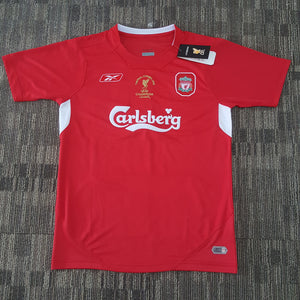 competitive price 3181e 728d6 2004/05 Liverpool Home UCL Final Istanbul Shirt – Classic ...