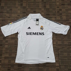 competitive price d54f0 1304f 2005/06 Real Madrid Home Shirt – Classic Football Jersey