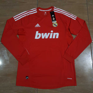 detailed look 90d34 59e37 2011/12 Real Madrid Third Shirt Longsleeve – Classic ...