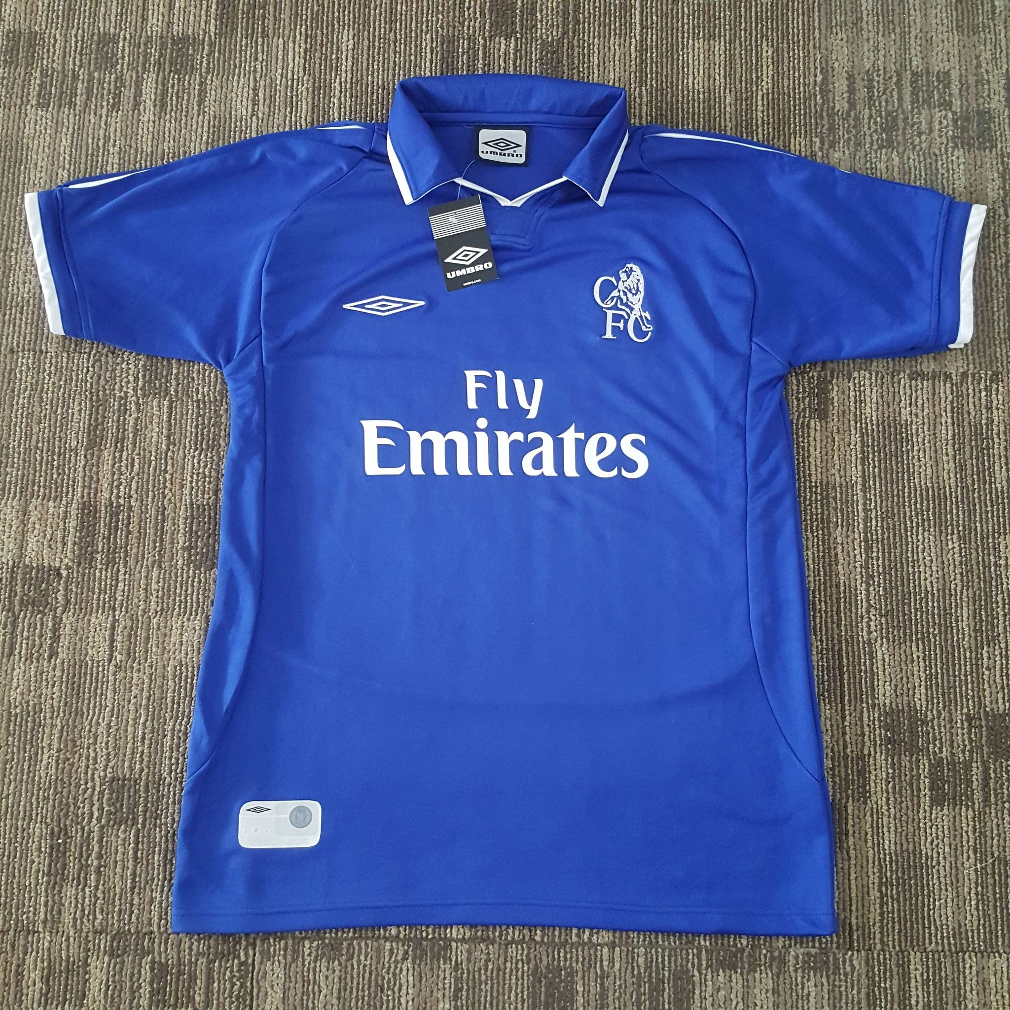 check out ca3b1 1750e 2001/02 Chelsea Home Shirt – Classic Football Jersey