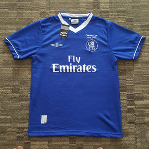 new styles 2f333 f401f 2005 Chelsea Final Carling Cup – Classic Football Jersey