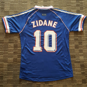 new arrival a5fb6 dff79 1998 France Home (Zidane #10) Shirt