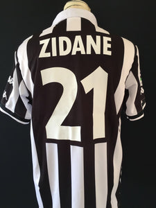finest selection 93574 efec2 1999/00 Juventus Home Shirt Zidane #21