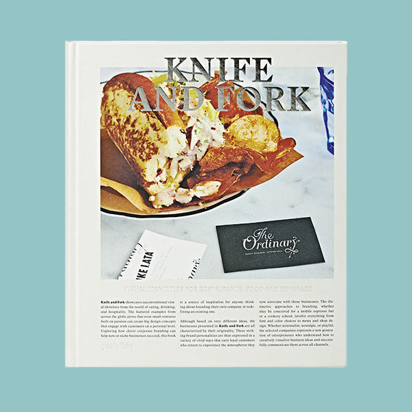 KNIFE & FORK: visual Identities for Restaurants & Food