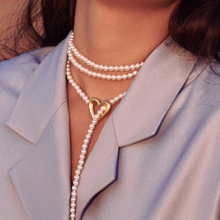 Queen of Love Pearl Necklace