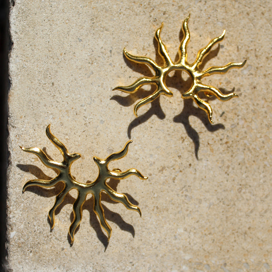 Sunshine earrings - designed in London