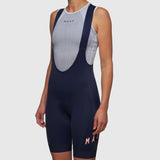 Women's Team Bib Shorts 3.0 Navy/Light Coral