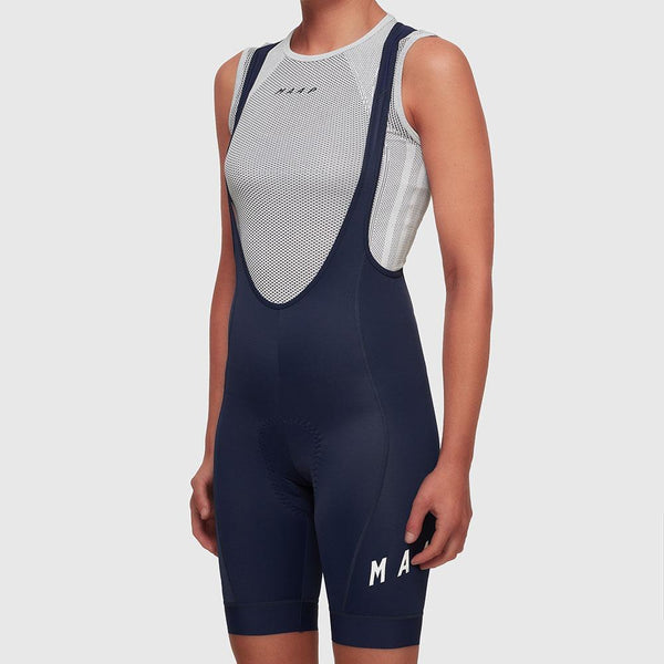 Women's Team Bib Shorts 2.0 Navy/ White