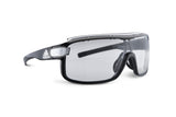 Zonyk Pro Black Shiny (Reflective)/ Vario Clear - Grey