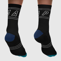 Outline Socks Black