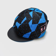 Polygon Deep Blue Cap