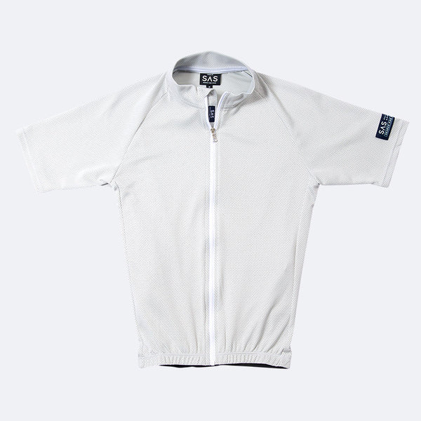 S1-A Riding Jersey White/ Navy