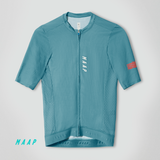 Stealth Race Fit Jersey Cyan