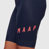 Women's Team Bib Shorts 2.0 Navy/ Coral