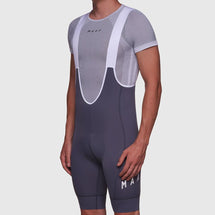 Team Bib Shorts 3.0 Grey/ White