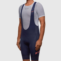 Team Bib Shorts 2.0 Navy/ Coral