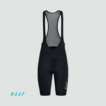 Women's Training Bib Shorts Black/White (2020)