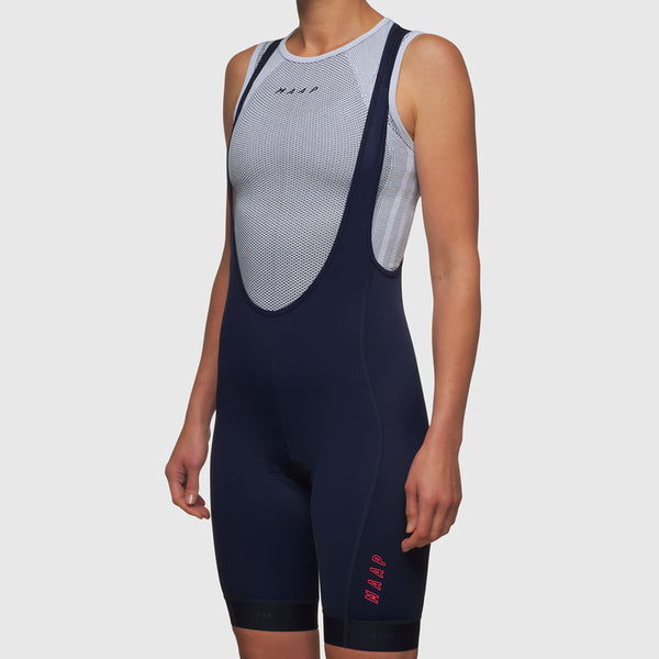 Women's Training Bib Shorts Navy