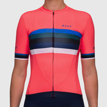 Women's Worlds Pro Hex Jersey Coral
