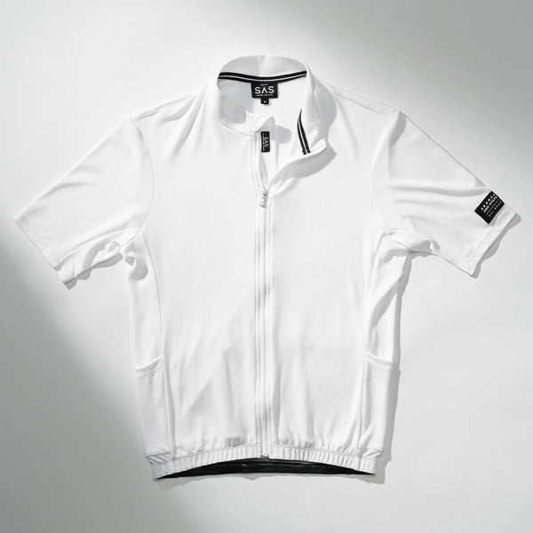 S1-L Lightweight Riding Jersey - White