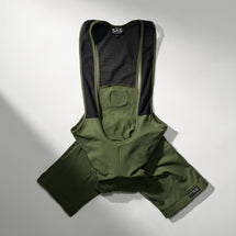 S2-R Performance Bib Shorts Utility Green