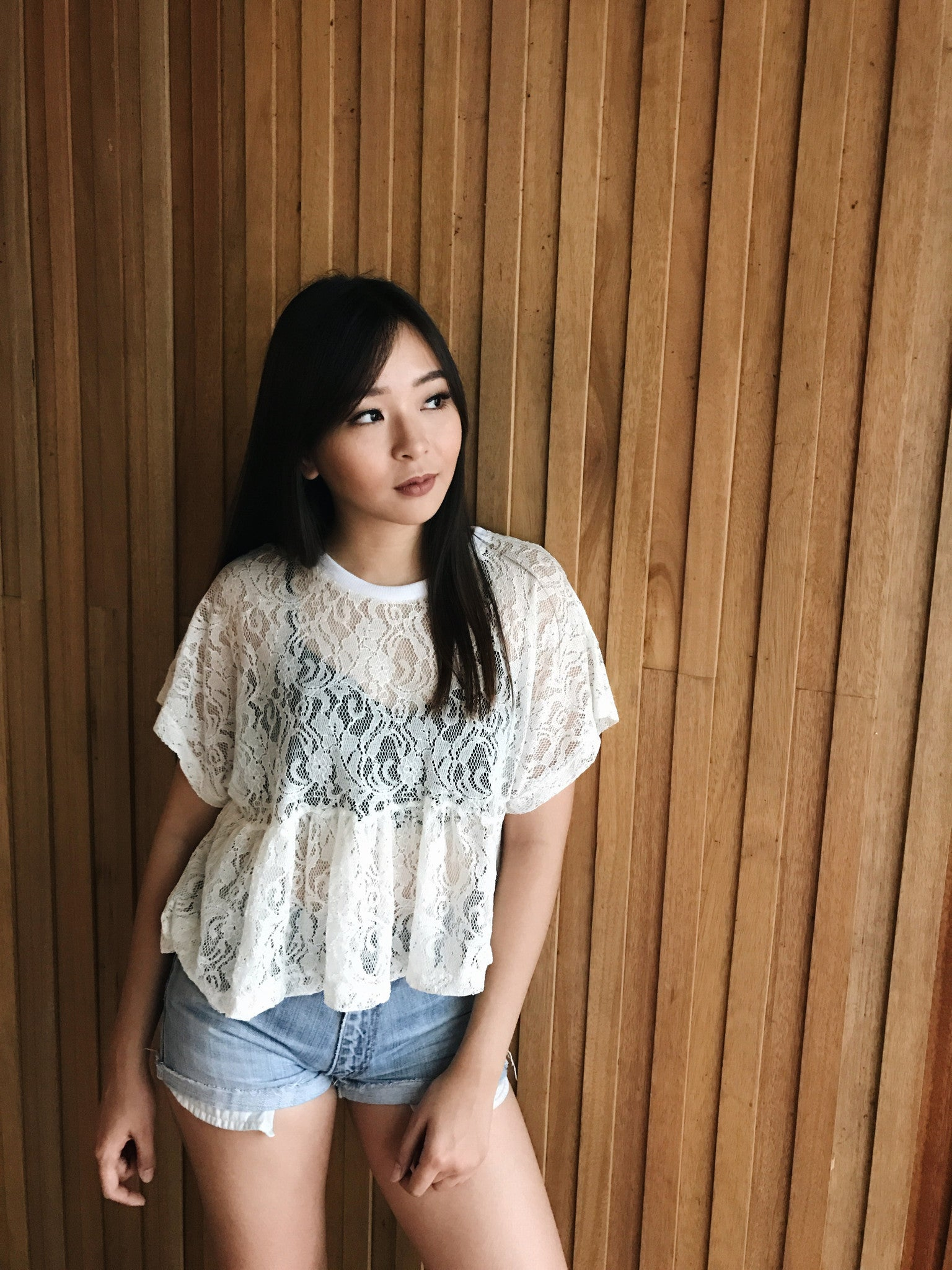Daisy Lace Top
