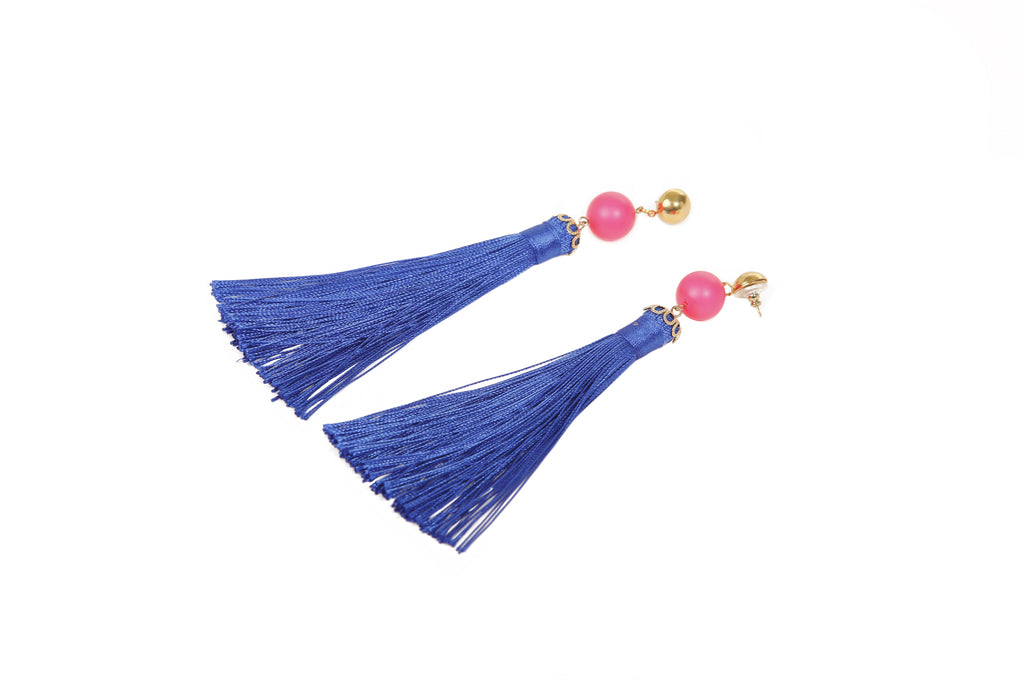 Morgan Tassel Earrings