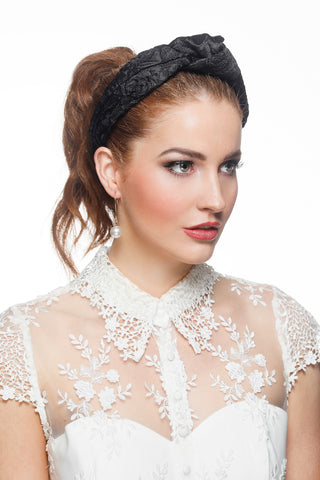 Amelia Lace Crown