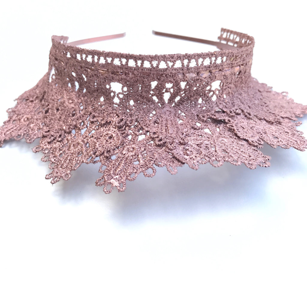 Mackinley Lace Crown