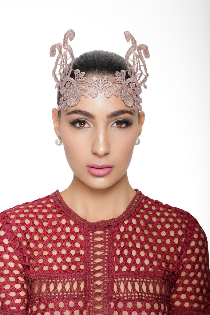 Romilly Lace Crown