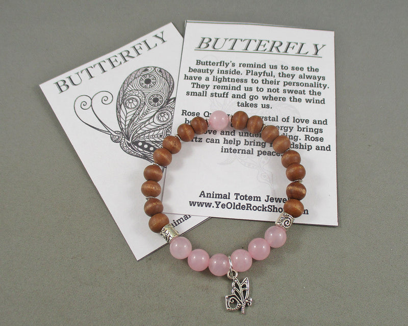 Butterfly Animal Totem Bracelet 1pc T816