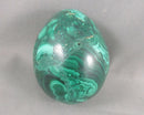 Malachite Crystal Egg 1pc B237-1