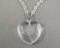 Quartz Heart Pendant 1pc