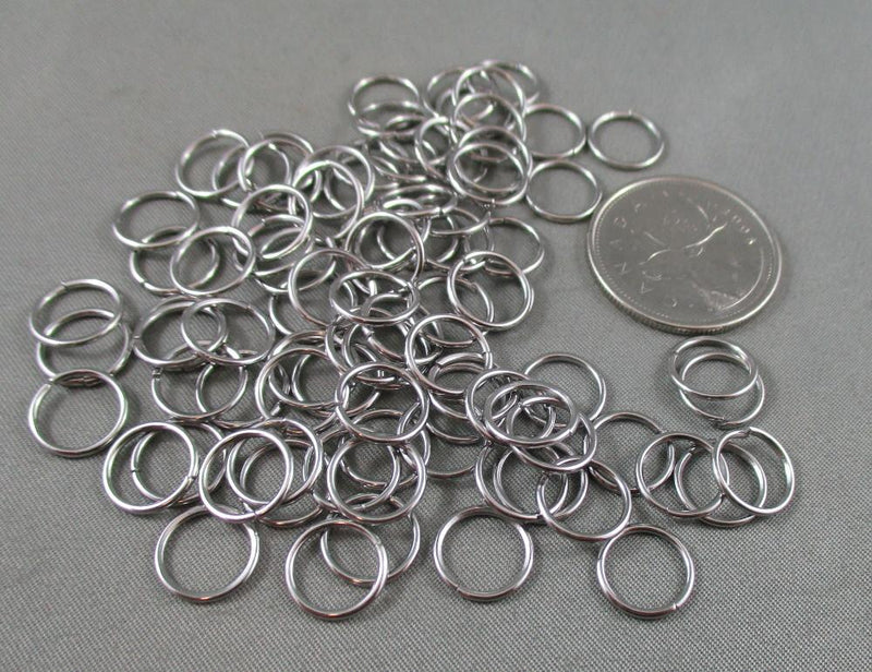 Jump Rings Stainless Steel Various Sizes