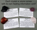 Garnet Polished Stones Small 5pcs T513