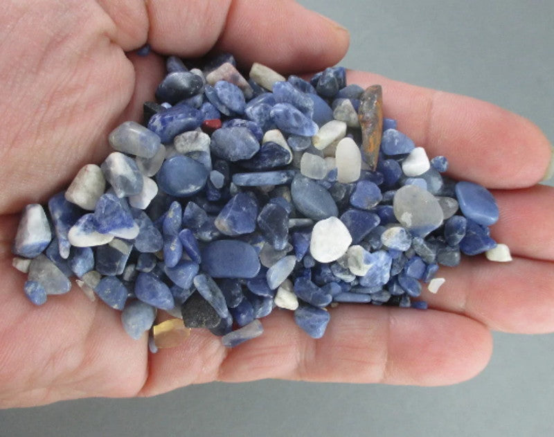 Sodalite Chips (Undrilled) 55grams T420