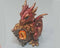 Large Copper Dragon with Crystal 1pc R250