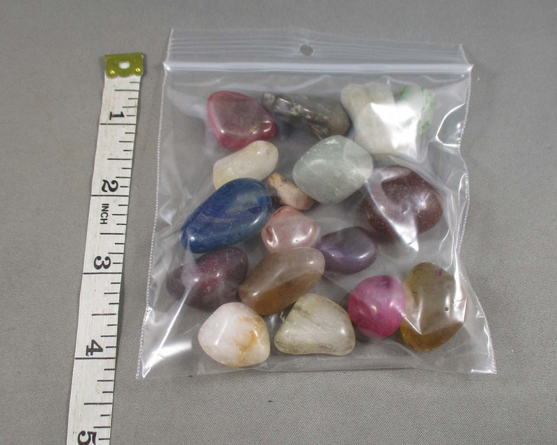 Polished Stones Bulk Lot 1/4lb (115 grams) A003